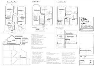 proposed plans for self contained flats